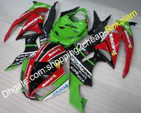 Para Kawasaki Fairing Kit ZX6R 09 10 11 12 ZX 6R 636 ZX636 2009-2012 ZX-6R Motocicleta Feedings peças (moldagem por injeção)