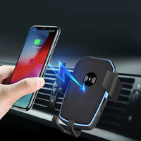K81 10W Qi Wireless Fast Charging Car Charger Air Outlet Mou...