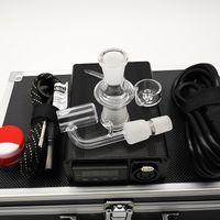 Elektrische Dab Enail Box Kits 14mm 18mm Weiblich Männlich 20mm Spule E-Nagel-Kits E-Nagel-Control Box mit Quarz Nails Banger und Cap