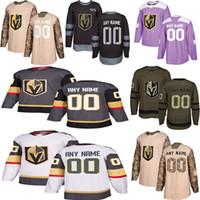 2019 News Vegas Golden Knights Hockey Jerseys 여러 스타일 망 사용자 정의 모든 이름 모든 숫자 하키 유니폼