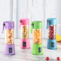 380 ml Blender Personal Portátil Mini Blender USB Juicer Cup Electric Juicer Botella Fruta Herramientas de verduras EEE284