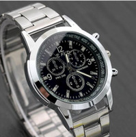 New Men Fashion Watch Hot Casual Luxury Full Stainless Steel...