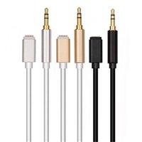3,5 mm de áudio Cabo de Extensão Aux Cord Car Speaker Headphone Connector