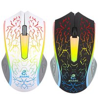 ECO HIPERDEAL Moda Cool Mouse Optical LED Gaming Mouse Ajustable DPI 2000DPI 2 Botones para PC Laptop YE3.11