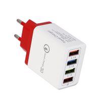 JOFLO الجدار شاحن 30W 4 منافذ USB شاحن السريع QC 3.0 السفر USB شاحن سريع