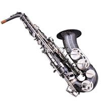 Germania Germania di alta qualità JK SX90R Keilwerth Alto Saxophone EB Flat Black Professional Strumento musicale con custodia Guanti Bocchino