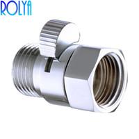 Rolya دش Pressue خيارات التحكم في المياه صمام G1 / 2 النحاس إيقاف التبديل