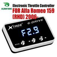 Voiture d'accélérateur électronique contrôleur Racing Accelerator Booster Pour Potent Alfa Romeo 159 (RHD) 2006 2007 2008 2009 2010Tuning pièces accessoires