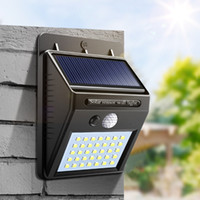 20 30 35 LEDs Solar Lights Waterproof For Home Garden Fence ...