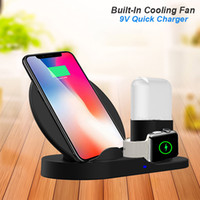 QI Wireless Charger Stand For IPhone 8 Plus X XS Max XR Wire...