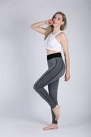 pantalons de yoga vêtements de sport survêtement nouvelle bande legging taille haute mécanique du corps sport élastique entraînement en plein air jogging fitness courir