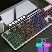 K108 Wired 38 Keys Gaming Keyboard LED Backlit Usb Ergonomic...