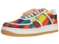 Travis Cactus Jack Scott Bandhnu la zapatilla de deporte de los zapatos de las zapatillas de deporte para hombre Striples multicolor del patín de los hombres de Zapatillas de deporte de las mujeres mujeres ocasionales