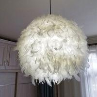 ريشة مصباح الحديثة أدى قلادة معلقة أضواء luminaria hanglampen voor eetkamer نوم hanglamp hanglampen مصابيح