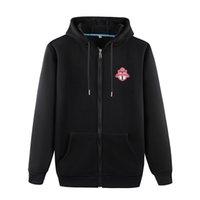 Toronto FC 2020 do outono Futebol Sportswear Men Sweater Moda Futebol Outdoor Wear Jogging Roupa Quente Casual Jacket Autumn