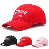 Nuevo Make America Great Again Trump Gorra de béisbol 2020 Gorras de sombrero de béisbol republicanas Trump bordado Presidente al por mayor
