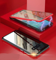 La adsorción magnética de vidrio templado del caso para Samsung Galaxy S10e S10 S10 Plus Nota 9 S9 S9 Plus S8 Nota 10 Nota 10 Plus
