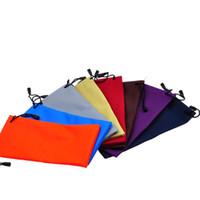 di vendita del nuovo sacchetto del cellulare occhiali da sole sacchetto di caso Occhiali 3D impermeabile Holder Borsa morbida polvere Pouch coulisse borsa Occhiali
