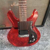 الاكريليك ذات جودة عالية حمراء الغيتار الكهربائي الصيني، وتوفير خدمة التخصيص شخصية