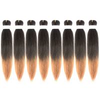 8 Packs 20 inch EZ Braids Professional Pre- stretched Braidin...