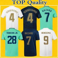 Camiseta Real Madrid Jerseys 2020 Soccer Jerseys Home Away T...