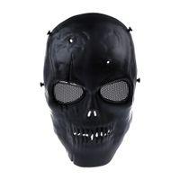 Skull Skeleton Cycling Airsoft Mask Skull Maschera protettiva completa militare per Halloween Party Supplies shiping gratuito