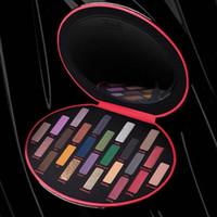 Sıcak Siyah Göz Farı Paleti Göz Makyajı Fetiş Göz Farı 24 Colors Sınırlı Üretim KVD Işıltılı Mat Göz Farı