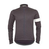 Hombre rapha pro equipo ciclismo manga larga jersey mtb camisa de bicicleta al aire libre ropa deportiva transpirable rápido seco racing tops carretera ropa de bicicleta y21042118