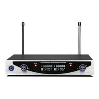 MU- 899 UHF Dual Wireless Microphone with LCD Display for Sou...