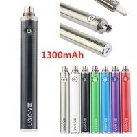 UGO-V3 III بطارية الأنا 1300 مللي أمبير Vape Pen EVOD Micro USB Passthrough ECig Charger في أسفل 510 بطارية مع شاحن