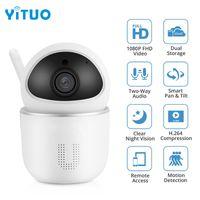 홈 보안 IP 카메라 Wi-Fi 1080P 무선 네트워크 카메라 CCTV 카메라 감시 나이트 비전 베이비 모니터 캠