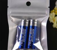 Papel de aluminio Claro Válvula resellable Cremallera Plástico Empaquetado al por menor Empaquetado Bolsa Zip Lock Bolso Mylar Paquete Ziplock Bolsas