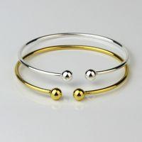 Minimalizm Bileklik Bileklik Basit Düğüm Hattı Bileklik Manşetleri Kadın Streç Bilezik Altın Gümüş Düğüm Bilezik