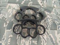 سميكة وثقيلة الصلب النحاس المفاصل القتال المفصل منفضة قوية الدفاع الذاتي المفاصل رجالي أداة الدفاع الذاتي