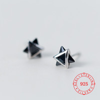 pretty simple 925 sterling silver mini geometry series love ...