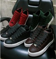Top Quality Arena Shoes Men Green Red White Black Holiday Co...