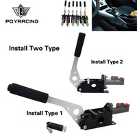 PQY - Universal Bremskits Hydraulische Handbremse E-Brake Vertikale / horizontale Drift für Honda Civic 2/3 / 4dr 1992-1995 PQY3632