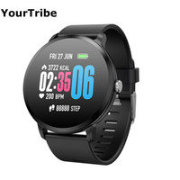 YourTribe V11 Mens Smart band IP67 waterproof Tempered glass...