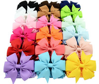 Mix colors Baby Large Lace Bow Headbands Girls Bow Hair Band...