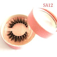 100% Real Mink Eyelashes 3D Natural False Eyelashes 3d Mink ...