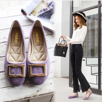 Fashionable soft bottom shoes comfortable women' s casua...