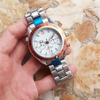 Men Watch Silver Strap Quartz montres alloy hommes montre lu...