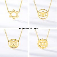 Irregular geometry Jewelry Hollow Pendant Necklaces Women St...