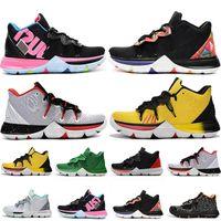 2020 Shoes Irving Kyrie Cinco 5 V Mens Basketball Black Magic Para Kyries Chaussures De homens do desenhista Trainers 5s Irving Sneakers Tamanho 40-46