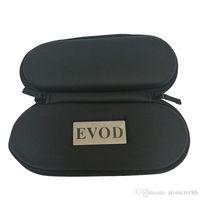 Evod Sac Ego Zip de fermeture à glissière pour cigarettes électroniques Vaporisateur à herbe sèche Vaporisateur de cire Stylo de cire Ego Carry sac pochette Evod CE4 MT3 Vape stylo