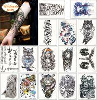 Новейшие! 1600 стилей половина рукава татуировки наклейки руки временные татуировки водонепроницаемый наклейка принять индивидуальные татуировки смешанные