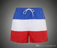 Sommer Panelled Strand Herren Shorts Mode Lauf Herren kurze Hosen beiläufige kühle Kurzschlüsse