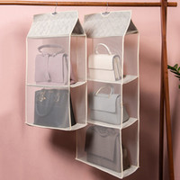 New Hanging Foldable Storage Bag Purse Handbag Organizer Con...