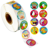 500pcs Children Praise Adhesive Labels Stickers with Eight S...
