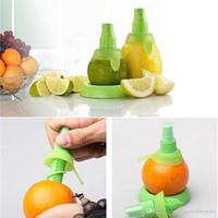 Al por mayor de zumo de fruta fresca cítrica spray 2pcs / set de cocina Limón Naranja pulverizador de cocina Herramientas de cocina jugo Squeeze Sprays BH1013 TQQ